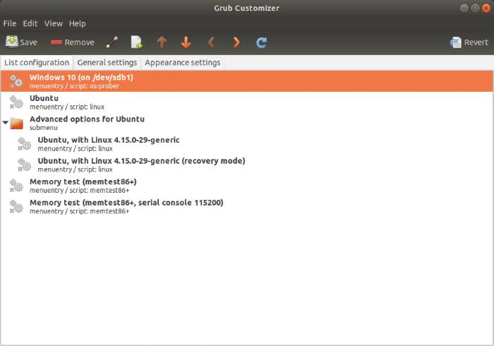 Set Windows 10 as default OS in dual boot with Ubuntu (2)