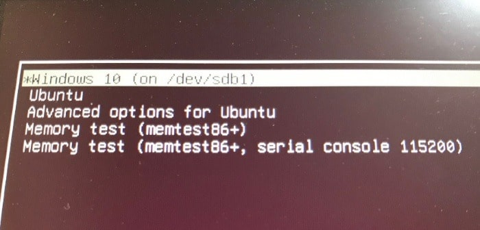 Set Windows 10 As Default OS When In Dual Boot With Ubuntu