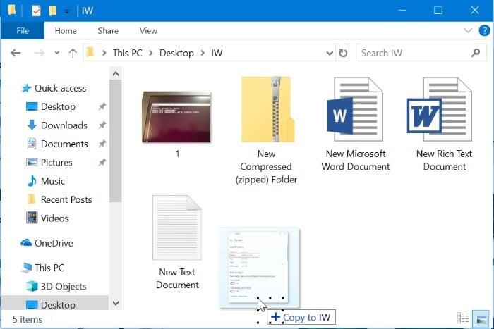 shortcut keys for windows 10 file explorer