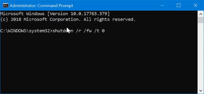 access uefi firmware settings in Windows 10 pic4