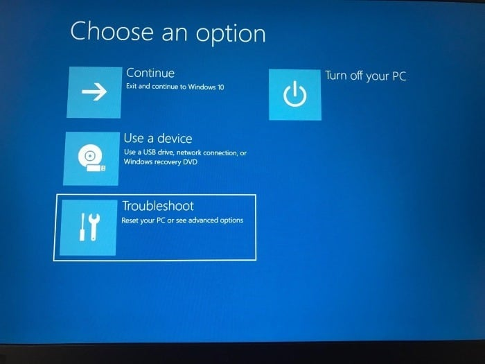 access uefi firmware settings in Windows 10 pic5