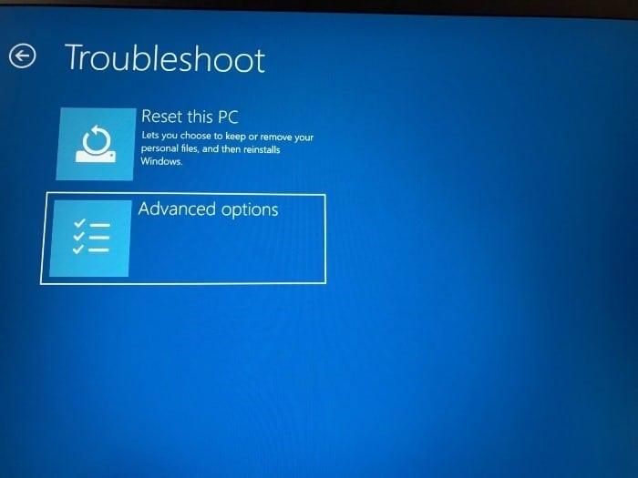 access uefi firmware settings in Windows 10 pic6