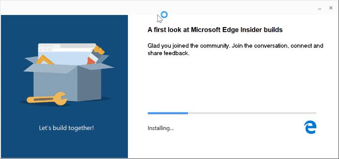 download Microsoft Edge for Windows 10 pic1