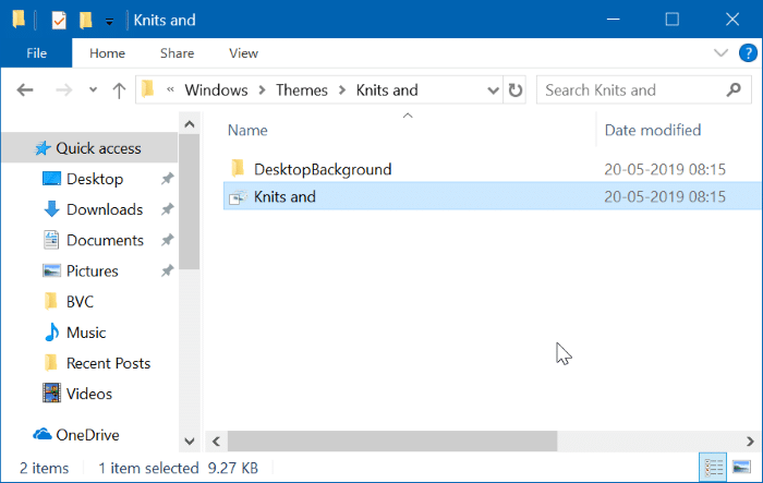 Location Of Themes In Windows 10