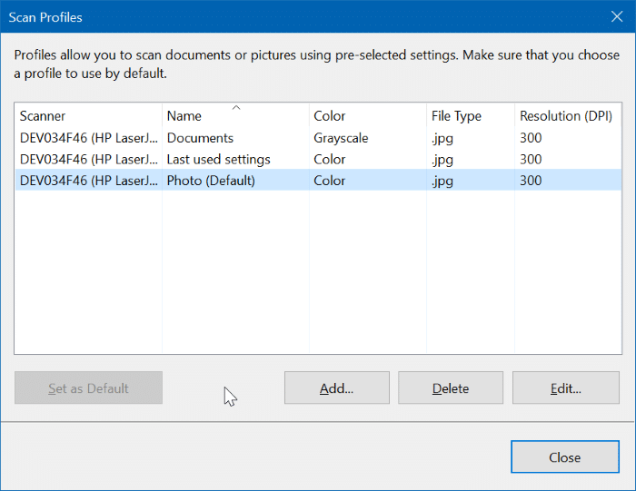 change scan settings in Windows 10 pic2