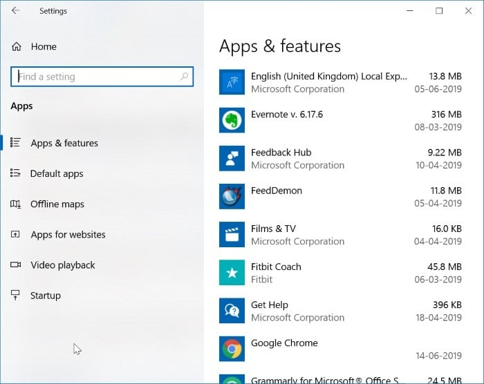 3 Ways To Check Disk Space Usage By ProgramsApps In Windows 10