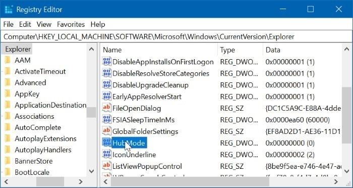 remove quick access from Windows 10 navigation pane pic3