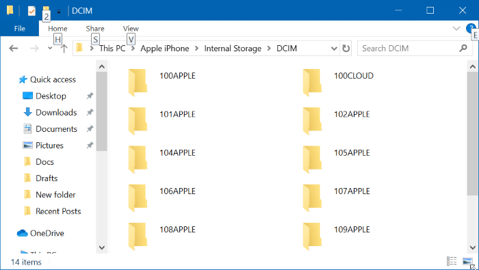 iphone not detected by Photos app in Windows 10 pic7