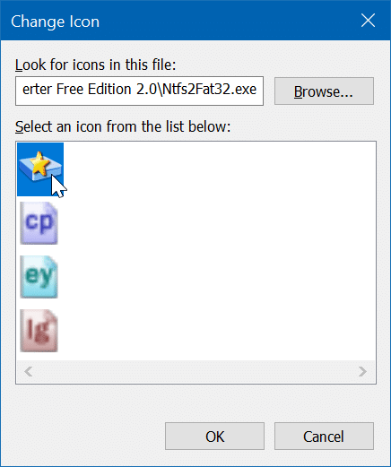 remove yellow and blue shield from program shorcuts on the desktop in Windows 10 pic5
