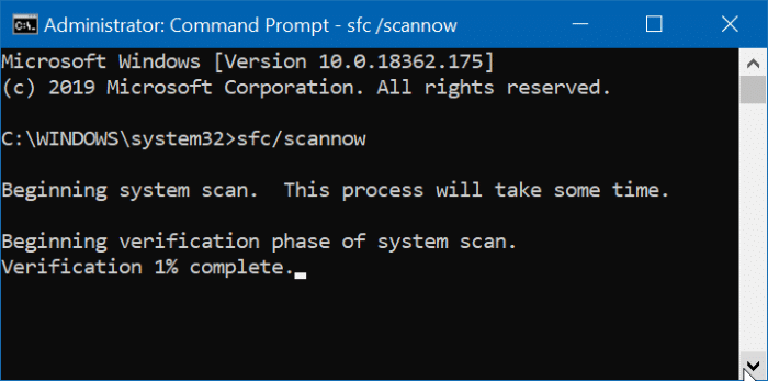 we cannot create the recovery drive error in Windows 10 pic1