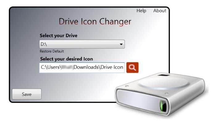Change Windows 10 drive icons pic2