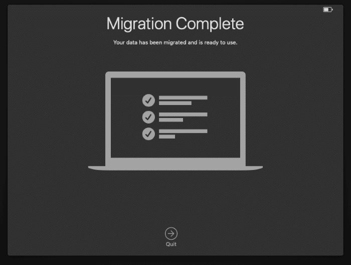 Migrate data from Windows 10 to Mac pic10