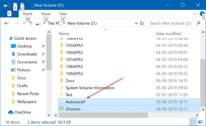 change drive icons in Windows 10 pic02