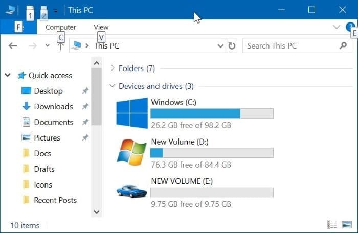 change drive icons in Windows 10 pic3