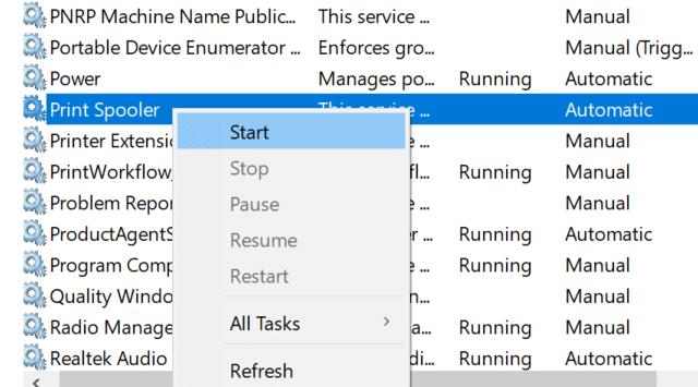 delete print queue documents in Windows 10 pic3