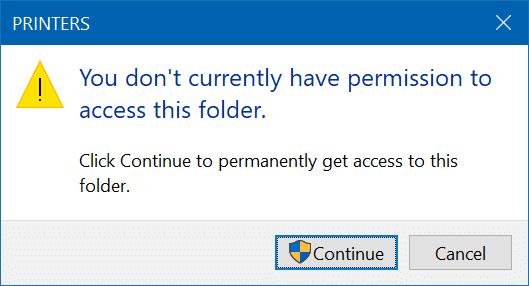 delete print queue in Windows 10