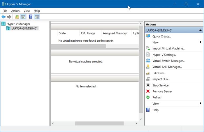 enable hyper-v in Windows 10 pic01