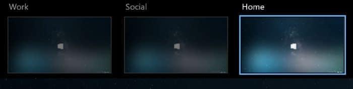 rename Windows 10 virtual desktops