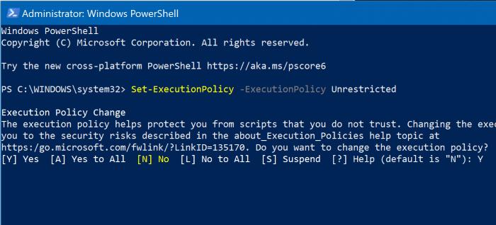 reset Windows 10 search via powershell pic4