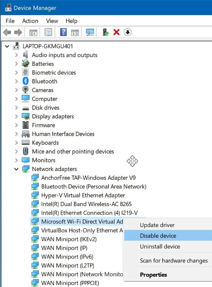 windows 10 automatically not connecting to Wi-Fi pic3