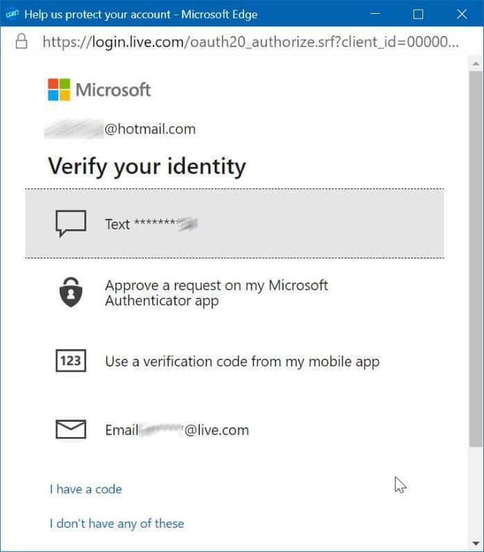 Using OneDrive personal vault