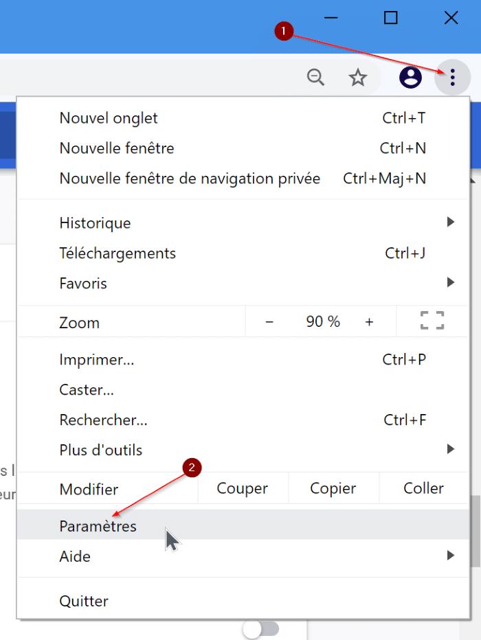 change google chrome language to english pic1