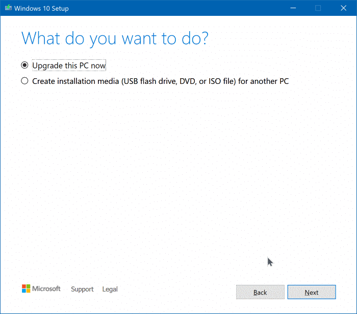 Upgrade to Windows 10 version 1909 pic2