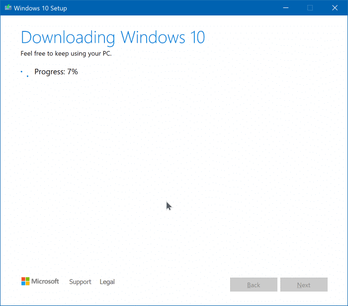 Upgrade to Windows 10 version 1909 pic3
