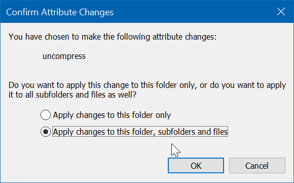 blue arrows on files and folders in Windows 10 pic4