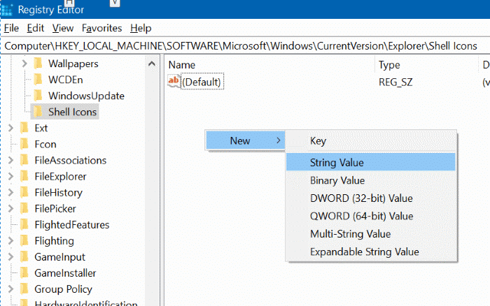 blue arrows on files and folders in Windows 10 pic7