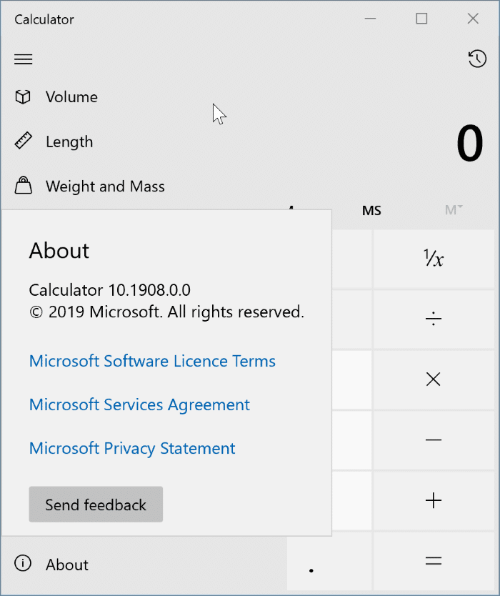 check version number of apps and programs in Windows 10 pic5
