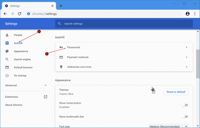 How To Export Passwords From Google Chrome In Windows 10