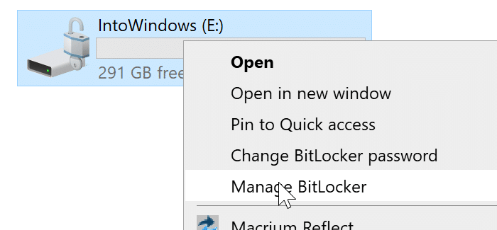 lock icon on drives in Windows 10 File Explorer pic3