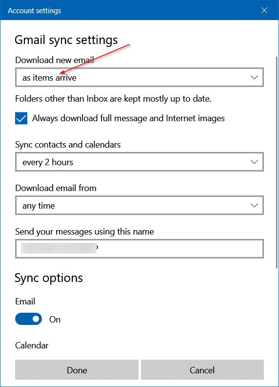 Add Gmail to Windows 10 Mail (10)