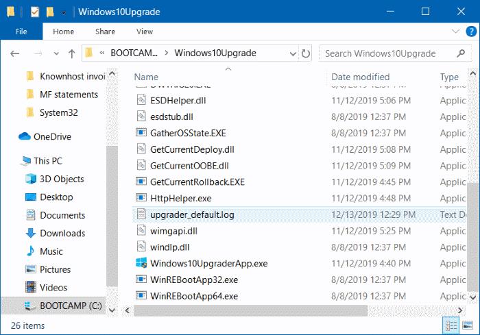Delete Windows10Upgrade folder in Windows 10 pic2