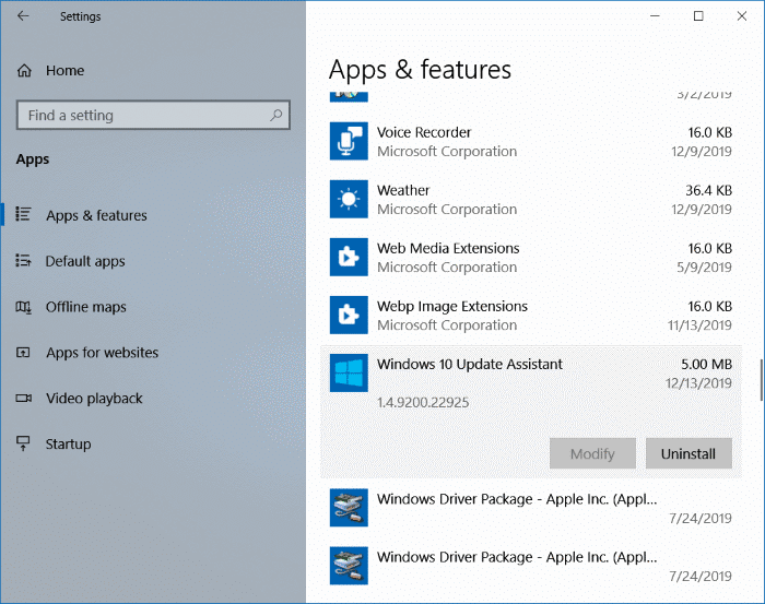 Delete Windows10Upgrade folder in Windows 10 pic3