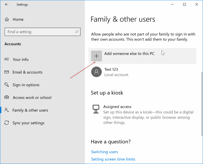 rename user account folder in Windows 10 File Explorer pic1