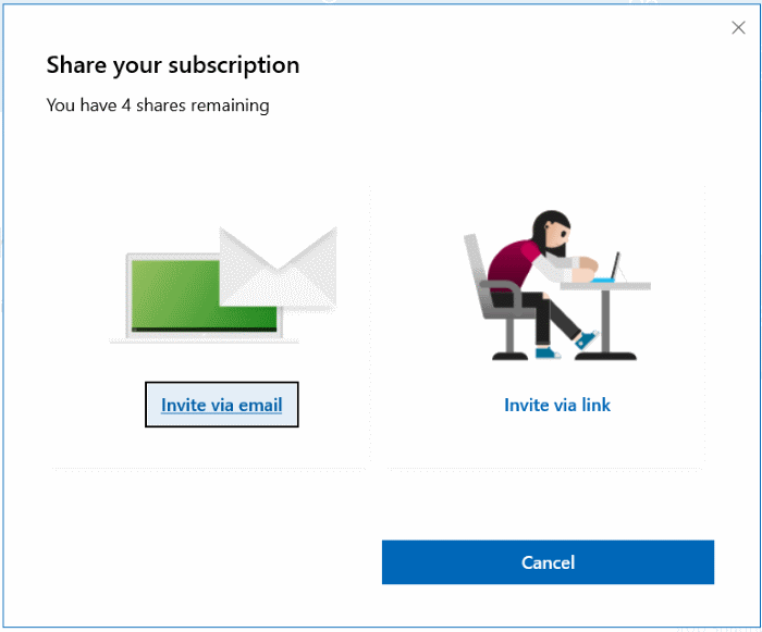 share office 365 home subscription with others pic5