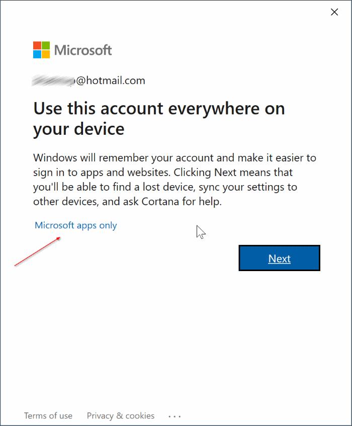 Turn on or off data sync in Microsoft Edge (11)