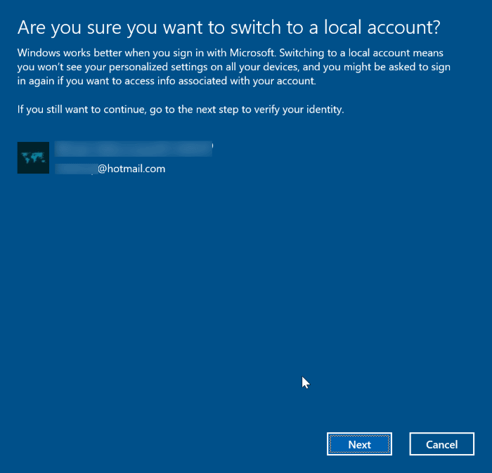 unlink Windows 10 license from Microsoft account pic3 [2]