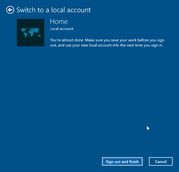 unlink Windows 10 license from Microsoft account pic6