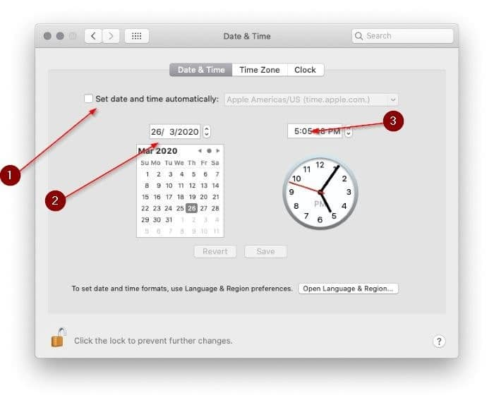 manually change date and time in macos pic2