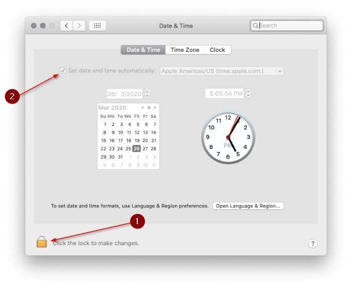 manually change date and time in macos pic3