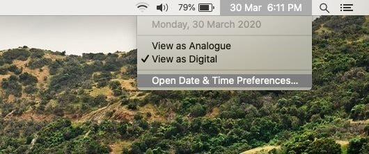 show date on macos menu bar pic1