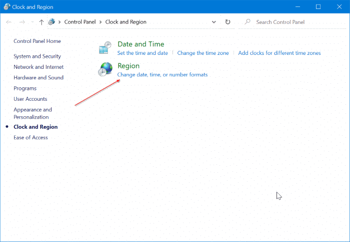 display day of week on the Windows 10 taskbar pic2