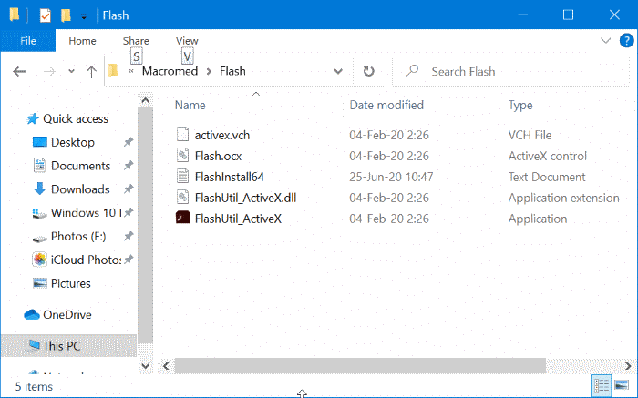 completely uninstall Adobe Flash Player from Windows 10 pic5