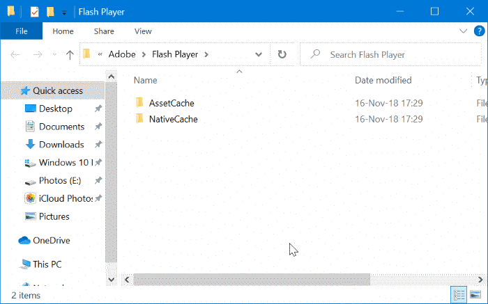 completely uninstall Adobe Flash Player from Windows 10 pic7