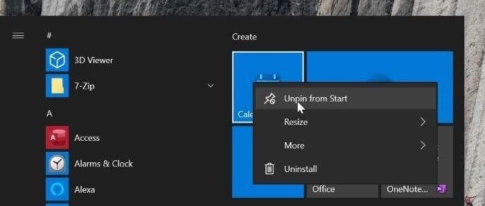get classic start menu in Windows 10 pic02