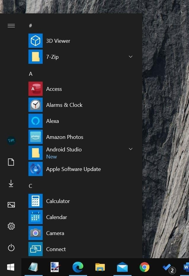 get classic start menu in Windows 10 pic05