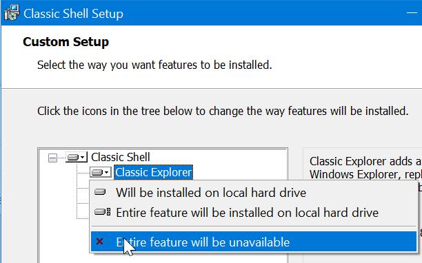 get classic start menu in Windows 10 pic2